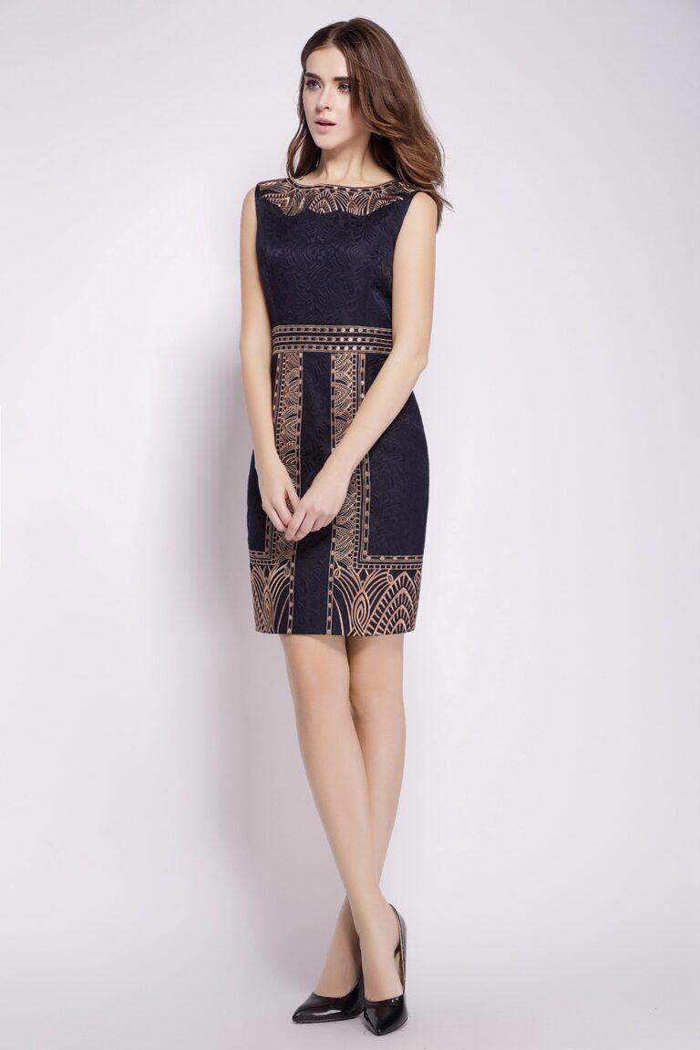 model baju mini dress brokat motif batik